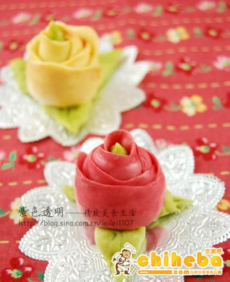 象征爱情的年菜玫瑰花包