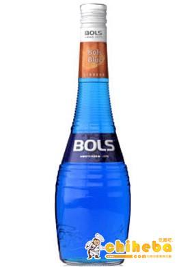 蓝色柑香酒