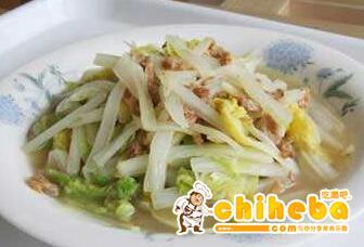 海米醋熘白菜