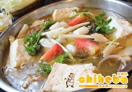 豆花鸡火锅