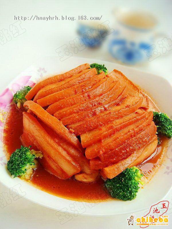 腐乳扣肉,腐乳扣肉的做法 家常菜 菜谱大全 美食天下 吃喝吧