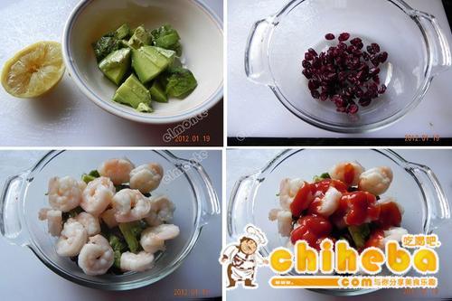 鸡尾酒虾的做法(新春年菜菜谱)