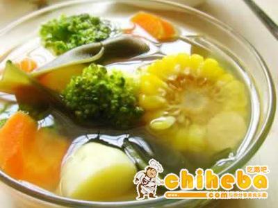 黄氏海带花椰汤
