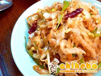尖椒肉丝炒酸菜