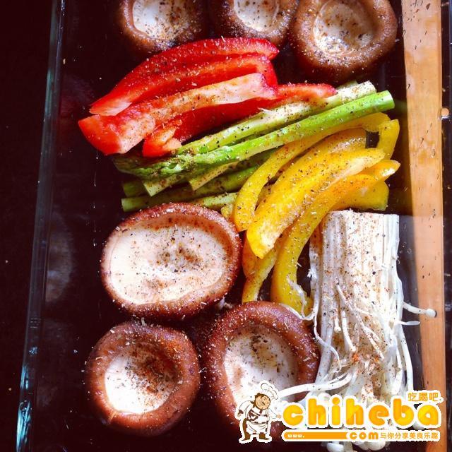 无油减肥烤菜的做法 步骤1