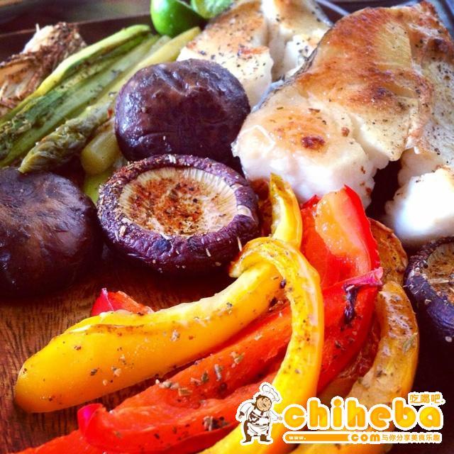 无油减肥烤菜的做法 步骤2