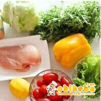 鸡肉瘦身沙拉的做法 步骤1