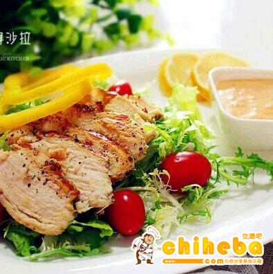 鸡肉瘦身沙拉