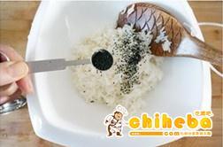 魔芋黑芝麻减肥寿司的做法 步骤3