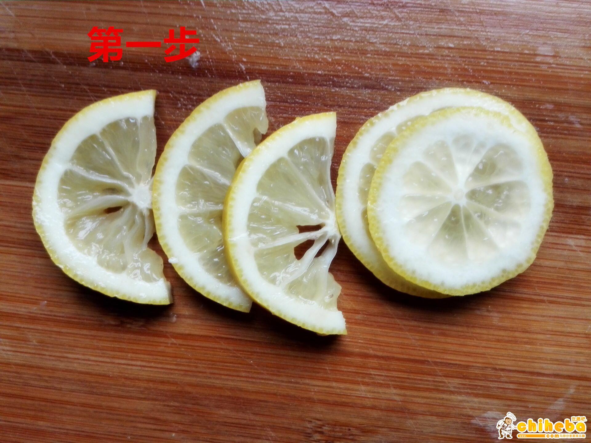瘦身美容养颜柠檬膏的做法 步骤1