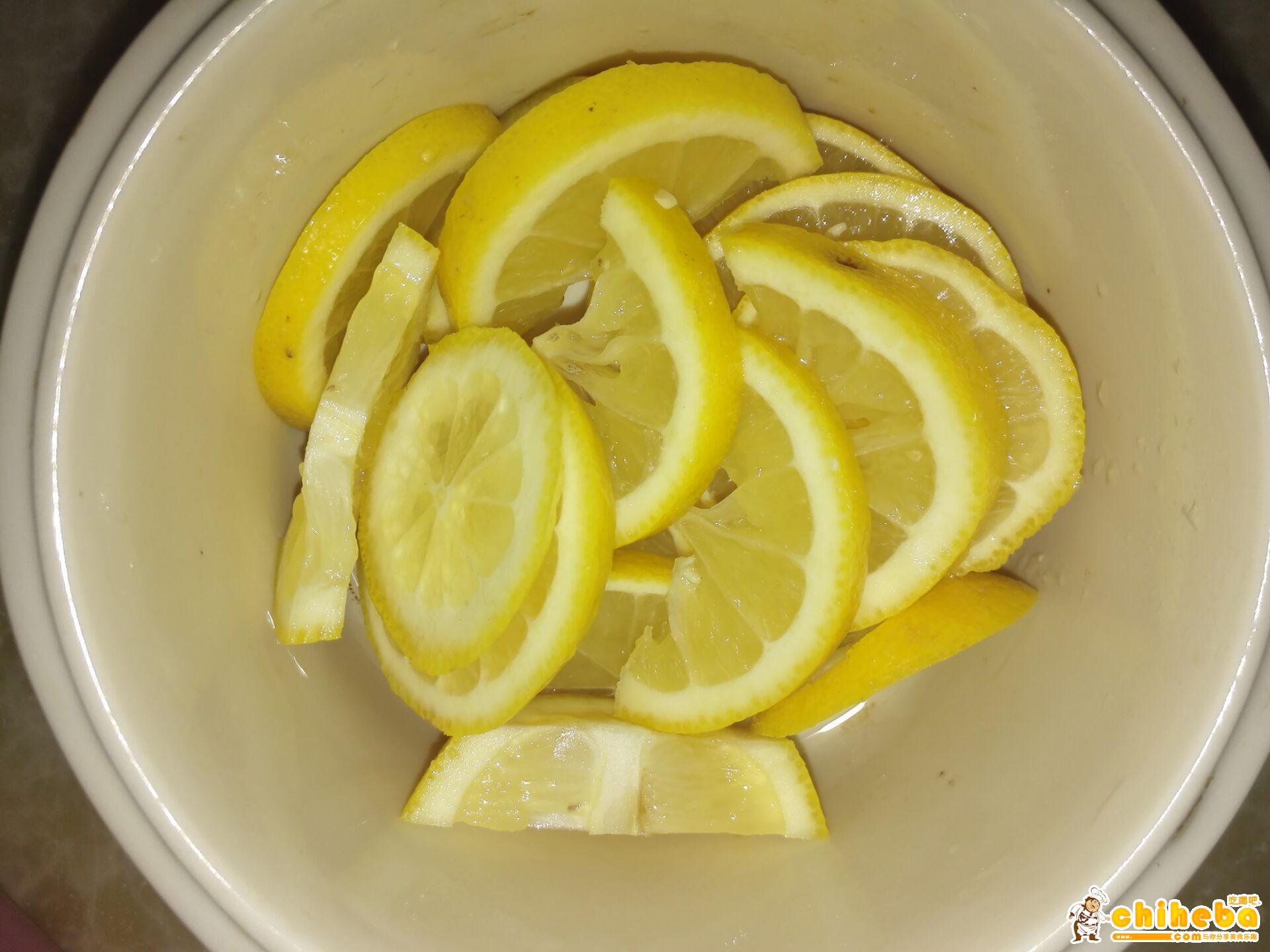 瘦身美容养颜柠檬膏的做法 步骤2