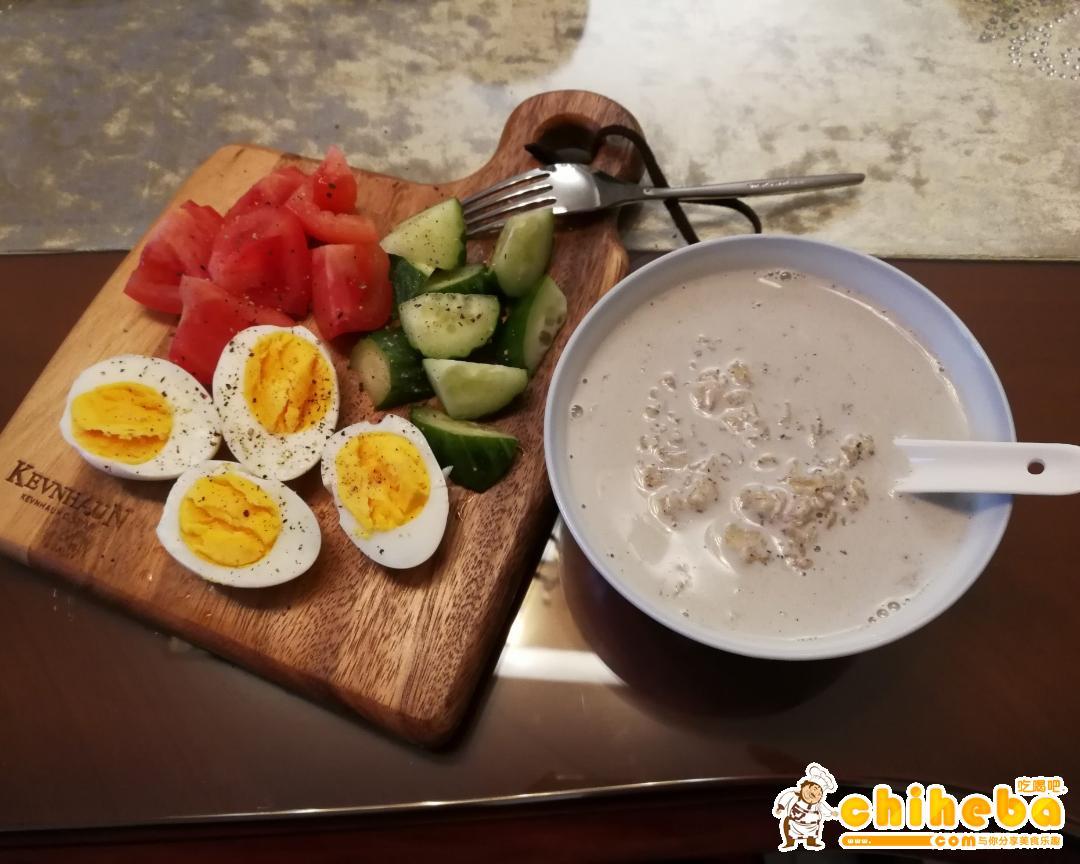 减肥食谱第1天-早餐