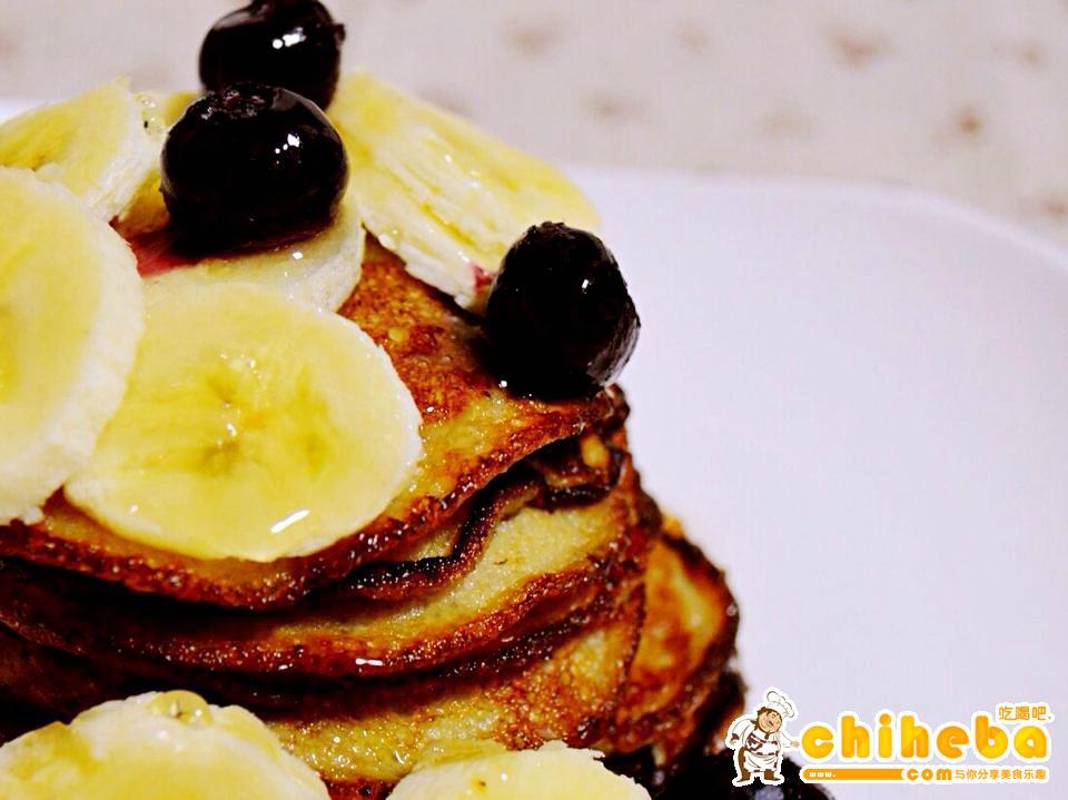 无粉无糖减肥松饼pancake