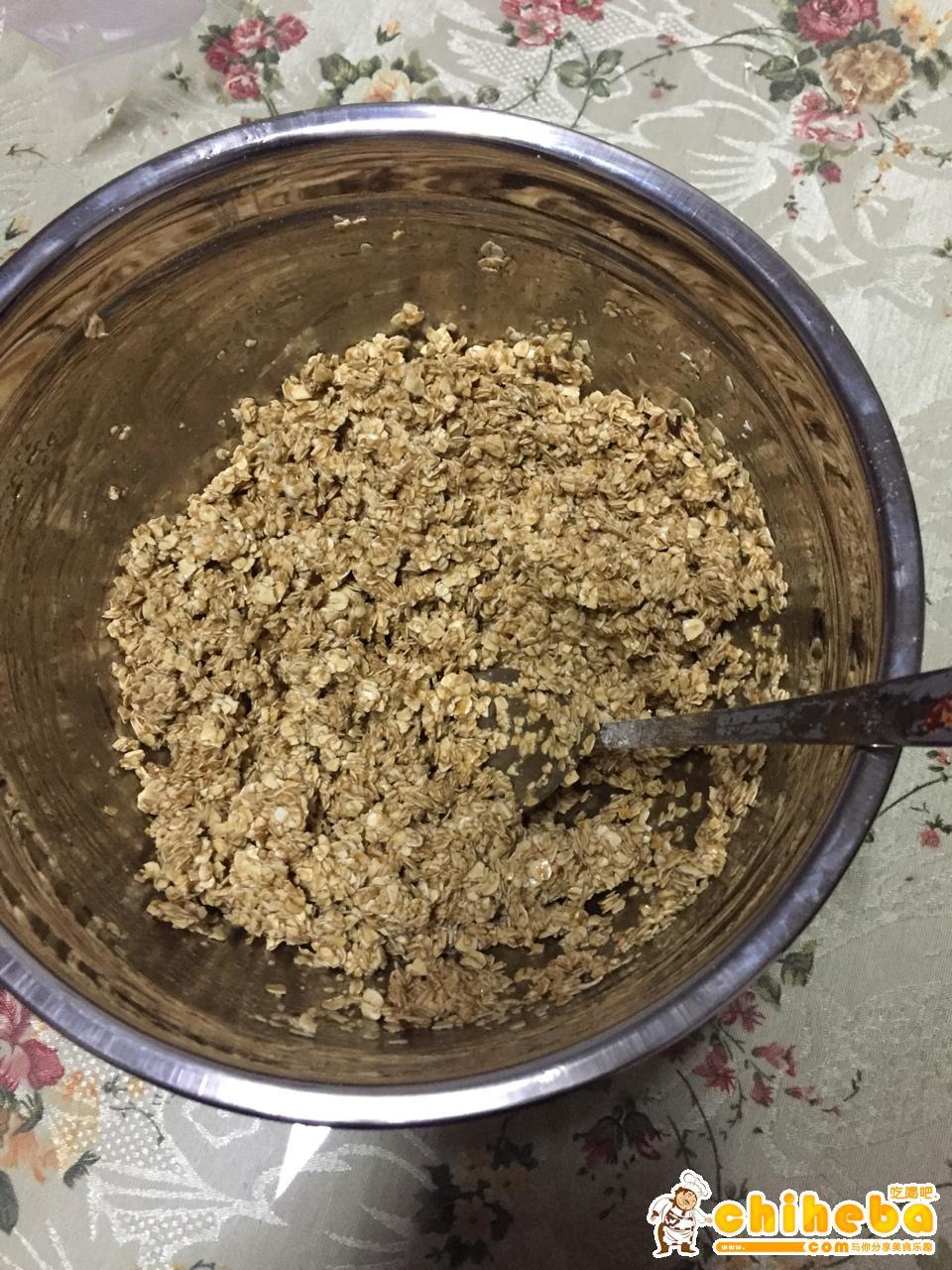 红糖燕麦饼干(减肥期间零食)的做法 步骤3