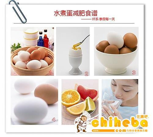 水煮蛋slimxi减肥食谱