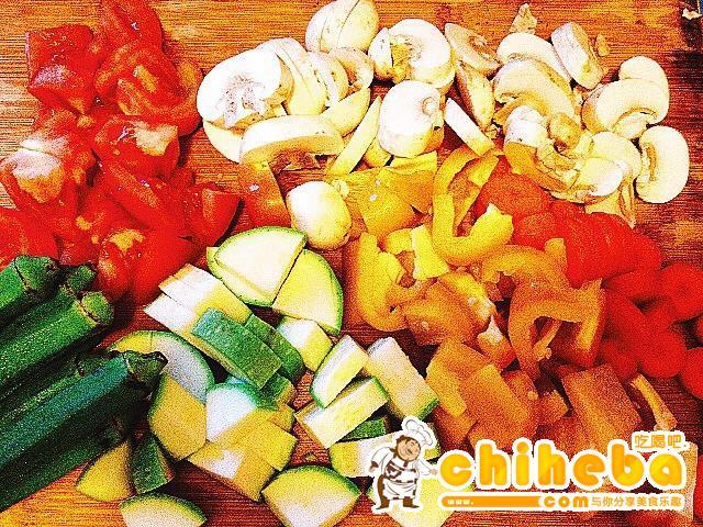 减肥蔬菜泡菜汤的做法 步骤1