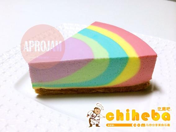 彩虹慕斯蛋糕的做法 步骤26