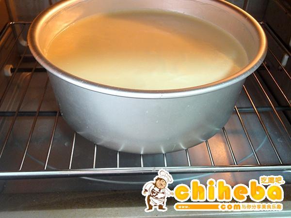 海洋酸奶慕斯蛋糕的做法 步骤19