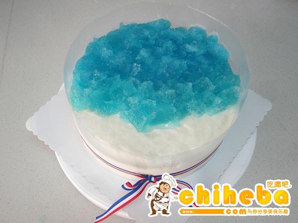 海洋酸奶慕斯蛋糕的做法 步骤50