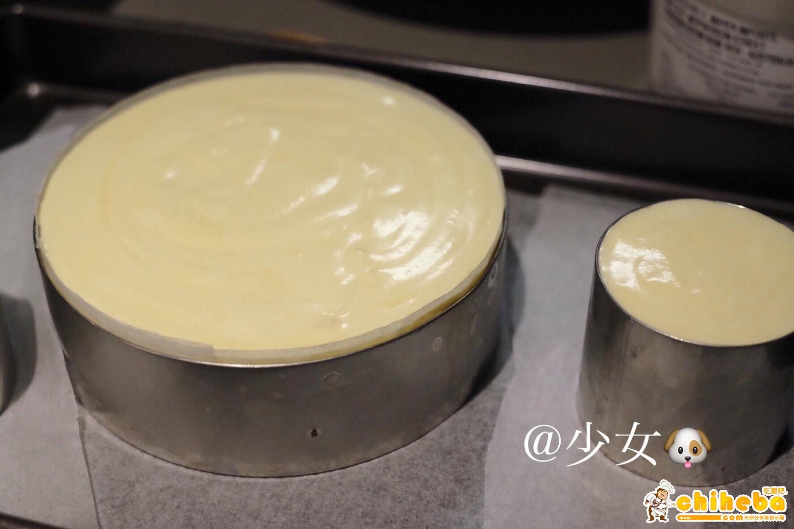 <LeTao> 巧克力双层芝士蛋糕配方大公开!!的做法 步骤16