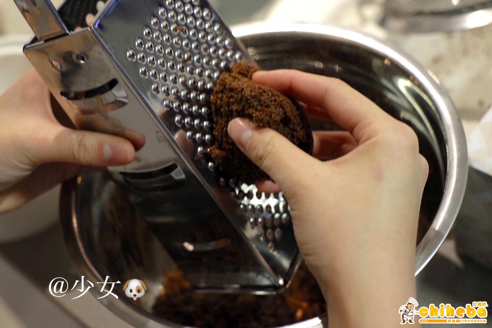<LeTao> 巧克力双层芝士蛋糕配方大公开!!的做法 步骤20