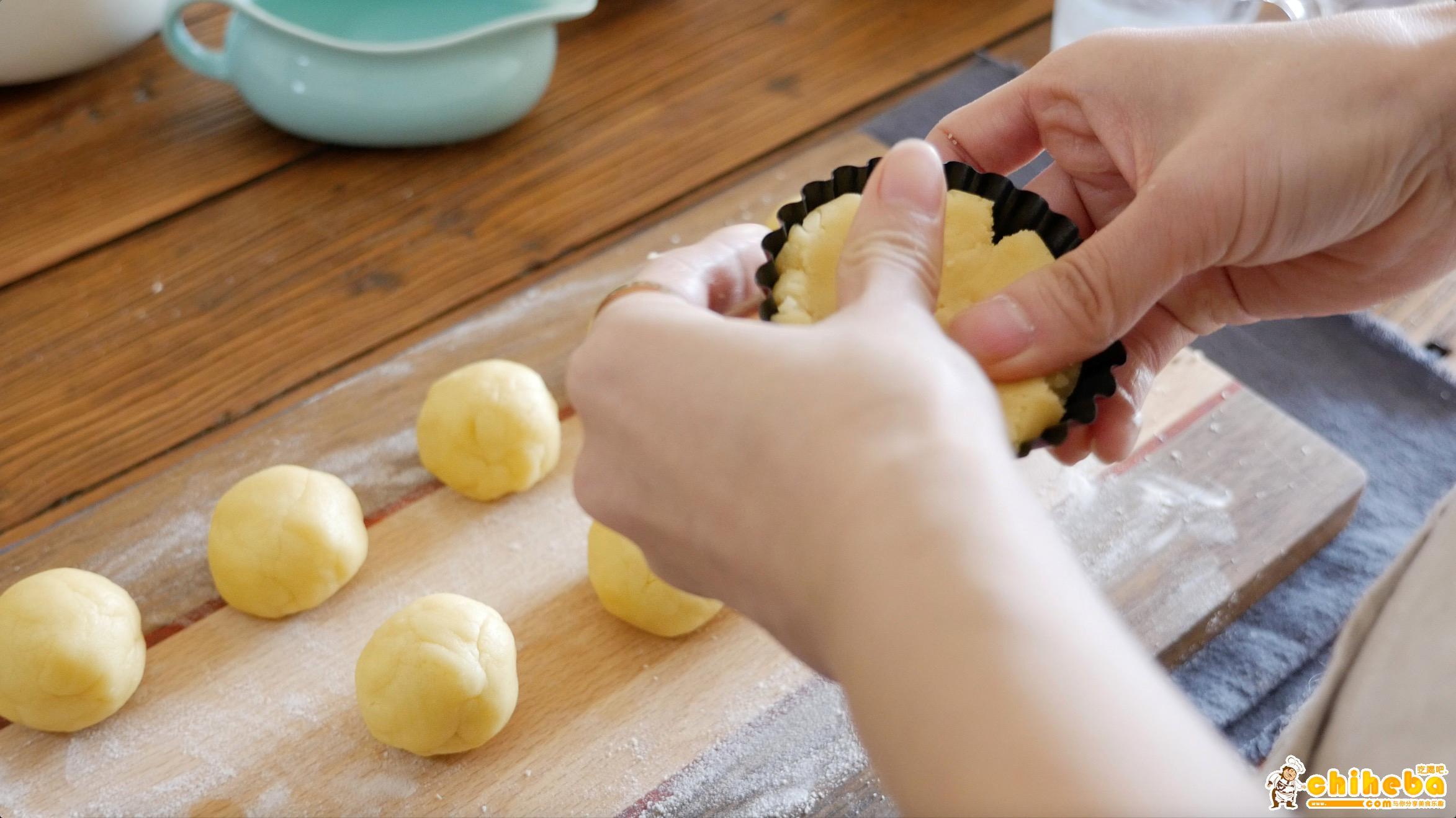 流心芝士塔---来自林育瑋大师分享的配方,秒杀一切蛋挞的做法 步骤11