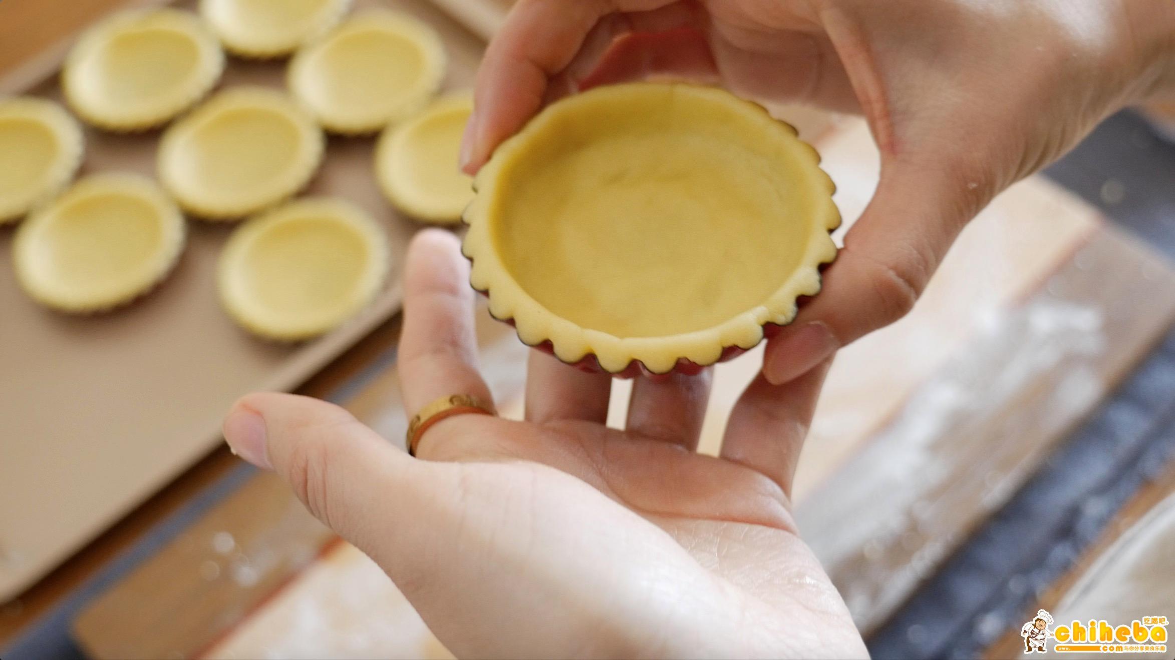 流心芝士塔---来自林育瑋大师分享的配方,秒杀一切蛋挞的做法 步骤12