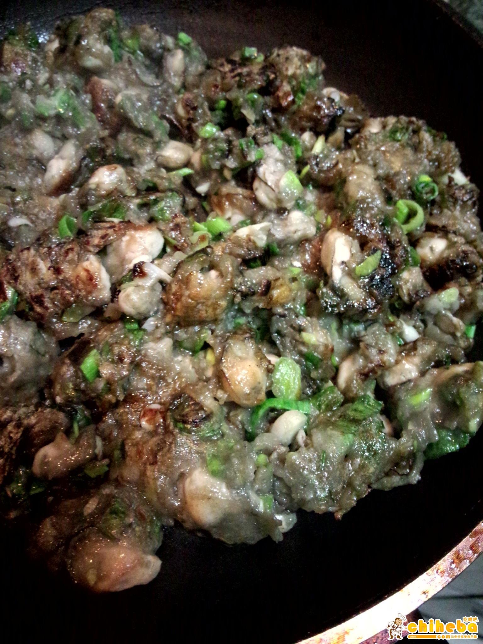 闽南小吃 海蛎煎的做法 步骤5