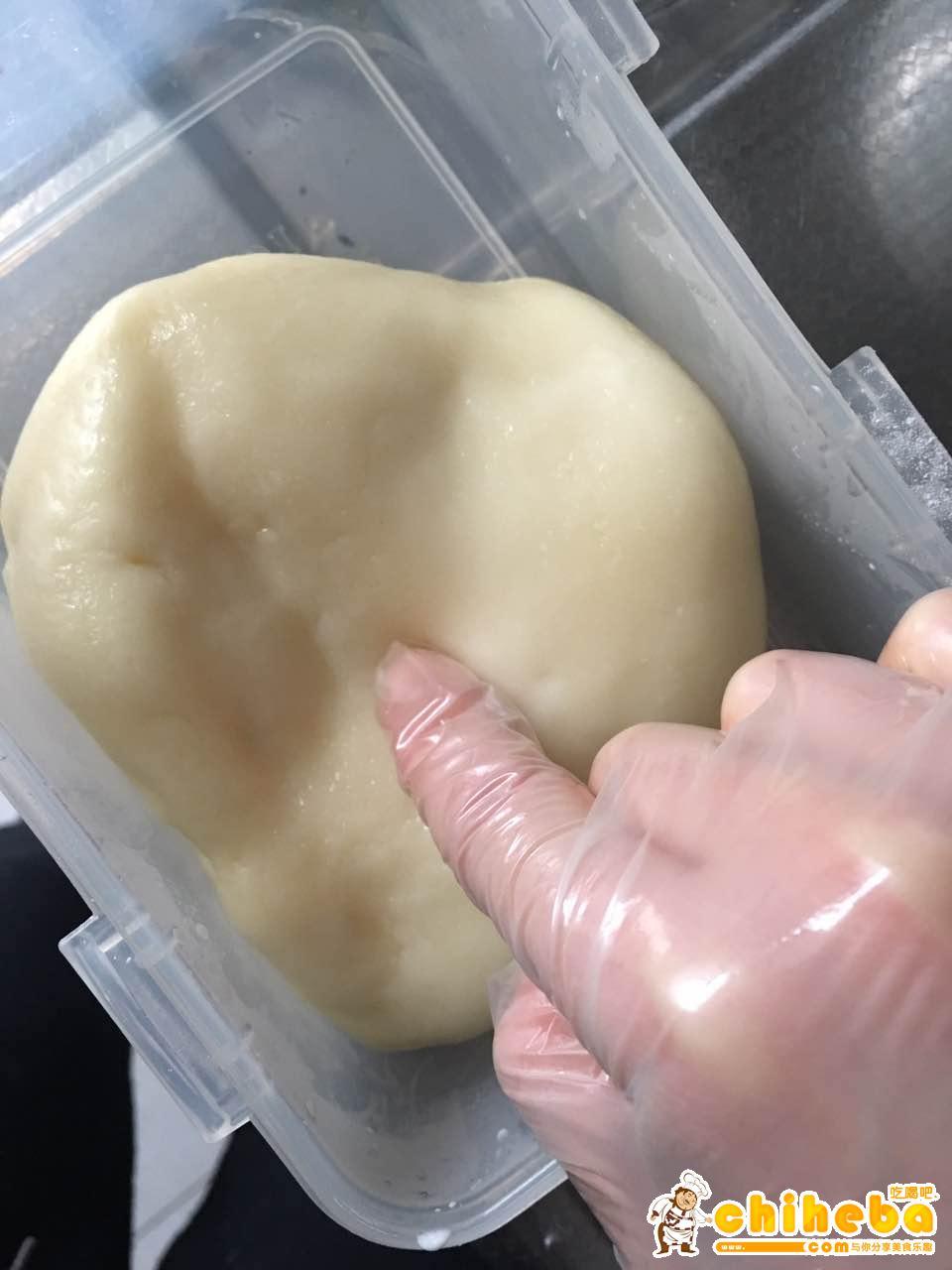 黑米红豆麻薯肉松饭团【健康小食】的做法 步骤4