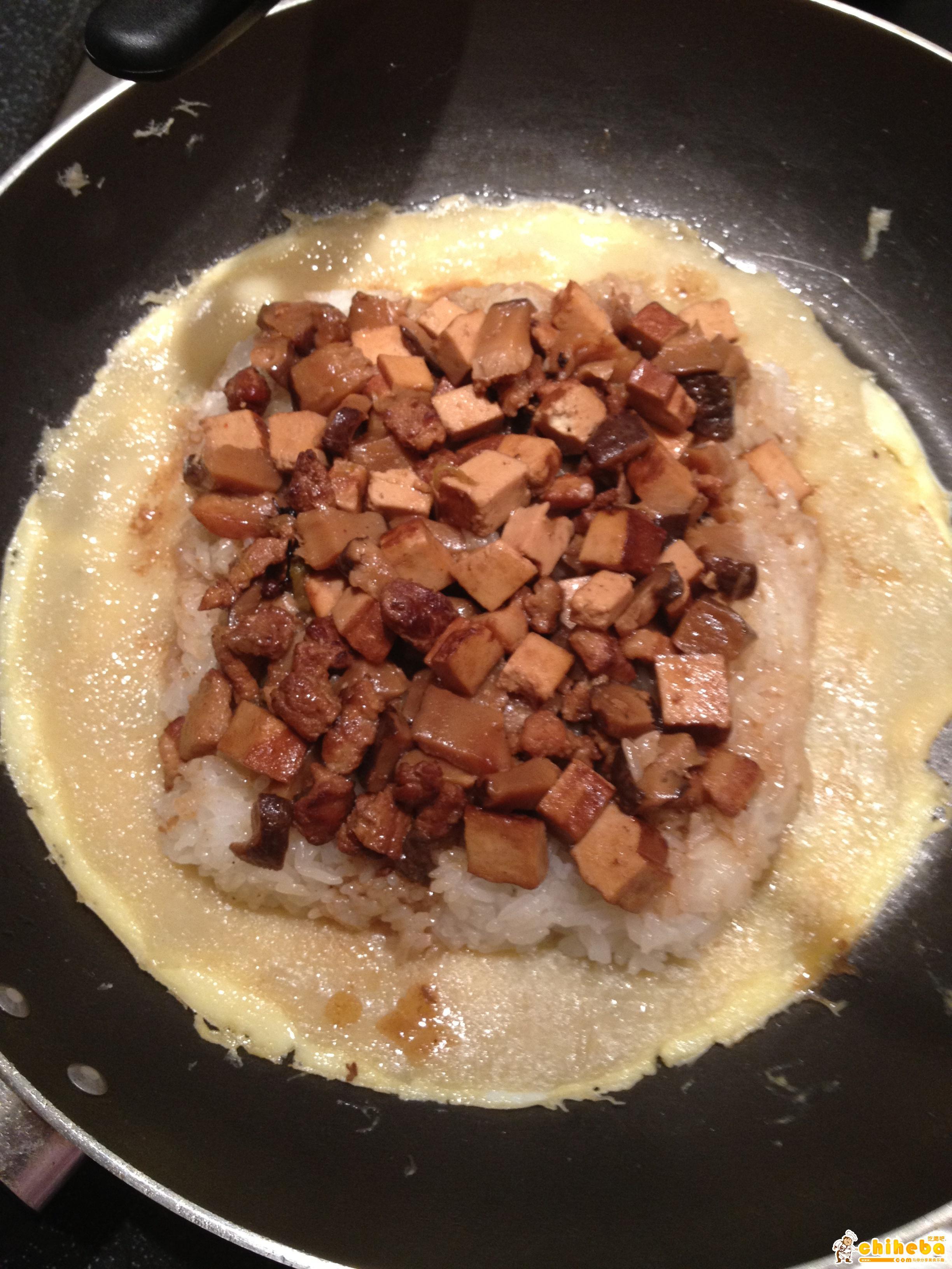 武汉豆皮——正宗武汉小吃的做法 步骤6