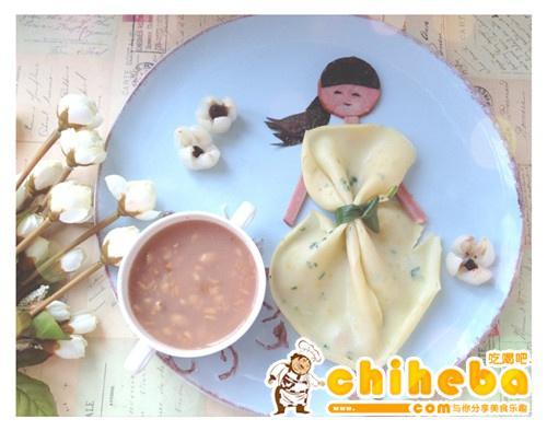 茶茶的创意早餐—青春