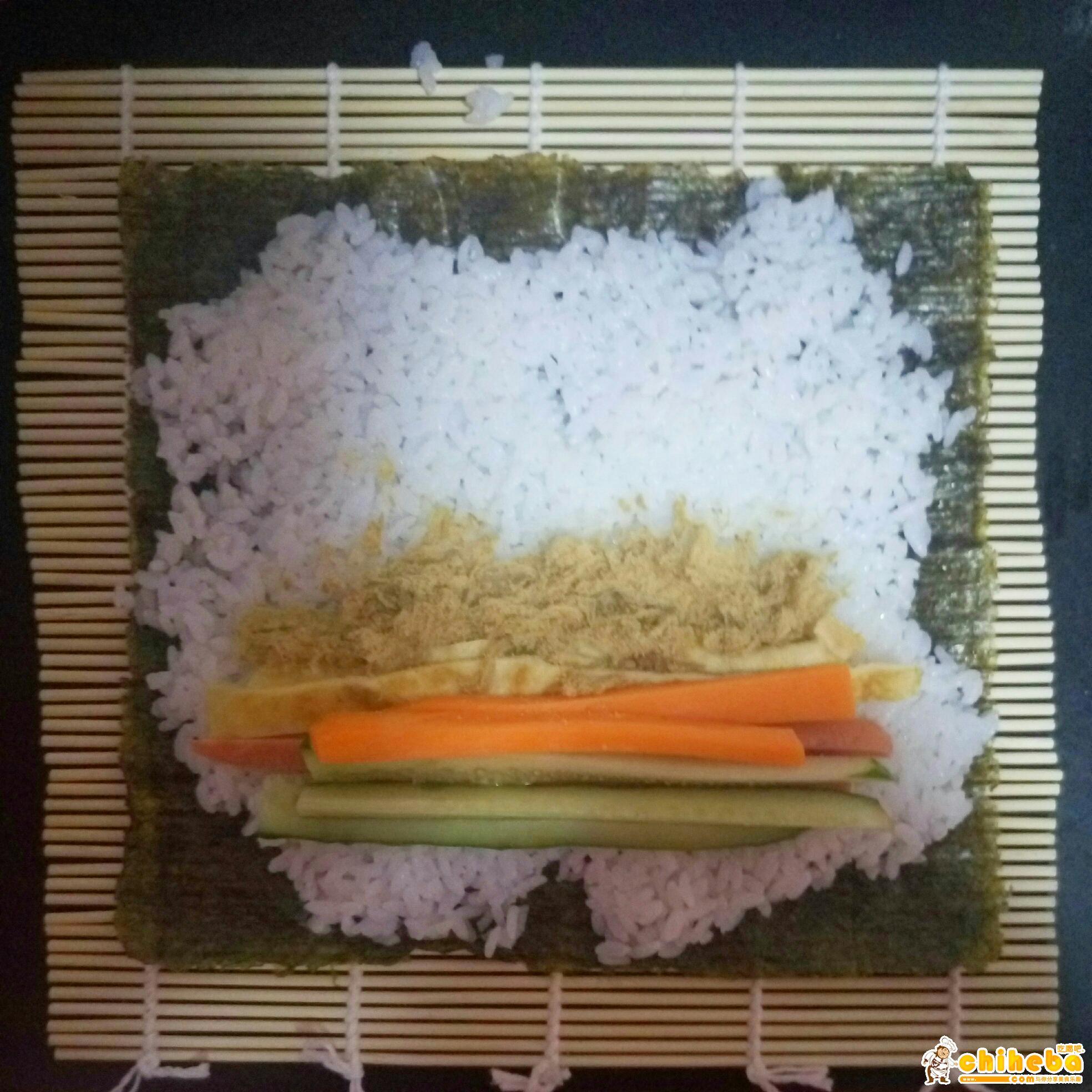 寿司创意的做法 步骤5