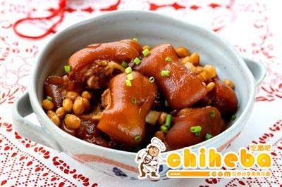 黄豆酱焖猪手
