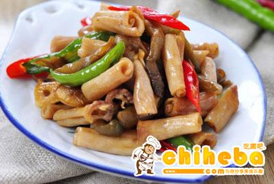榨菜炒鸭肠