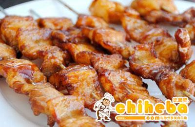 香烤五花肉串