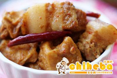 腐乳油豆腐蒸肉