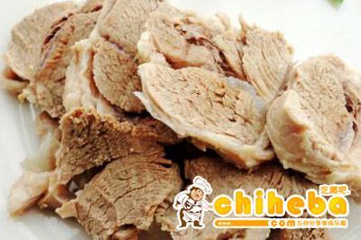 蒜泥白煮羊肉