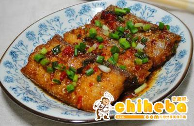 剁椒红烧带鱼