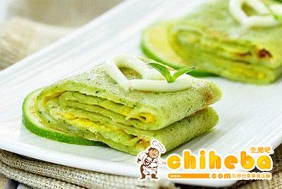 黄瓜鸡蛋早餐饼