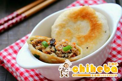 东北三鲜肉饼