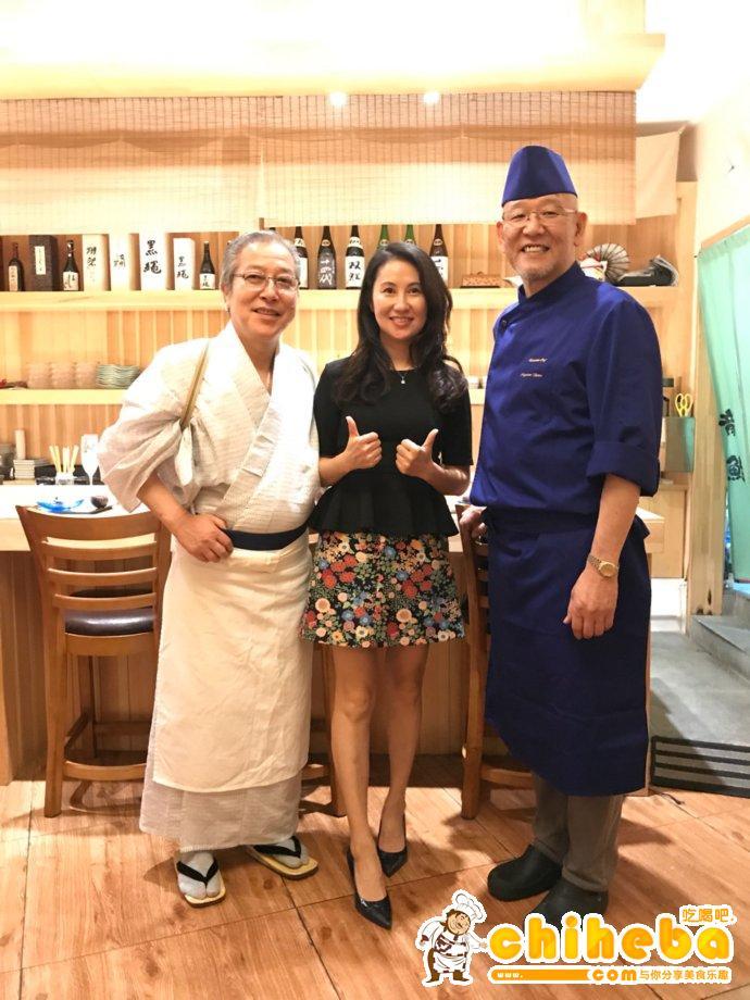 龙寿司的大关师傅