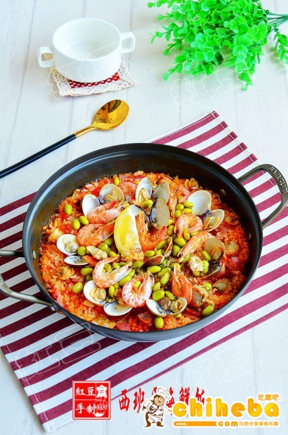 家常版西班牙海鲜烩饭