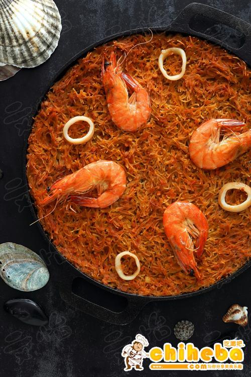 西班牙海鲜烩面