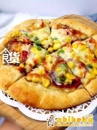 9寸鲜虾披萨