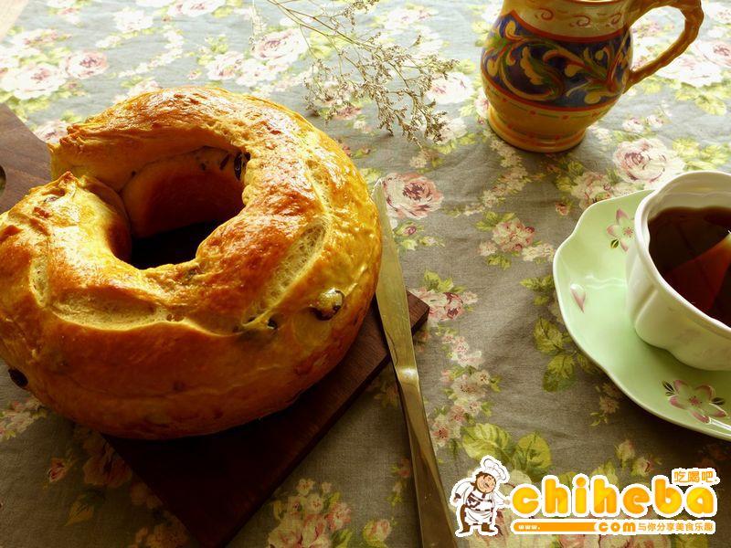 低卡面包也好吃——国王面包