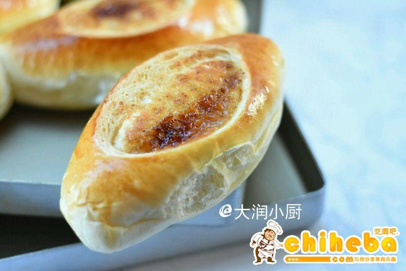 芝培酱开口笑面包#丘比沙拉汁#