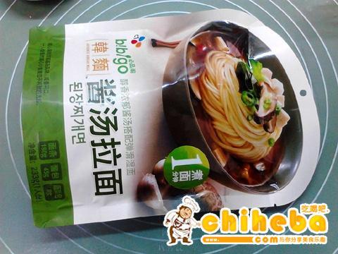 韩式酱汤拉面