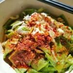 菠菜面(陕西油泼面)