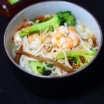 营养早餐-鲜虾米粉