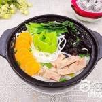 鸡汁砂锅米线